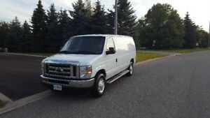 MINT!!2013 Ford E-250 Cargo Van LOW KMS, LOOKS/DRIVES LIKE NEW!!