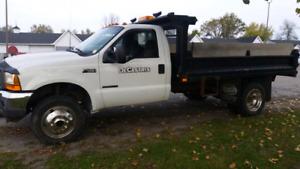 2001 Ford F450 4x4 Dump Truck