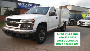 2012 CHEVROLET COLORADO LT CAB CHASSIS WITH BOX