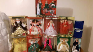 """""""HOLIDAY COLLECTION"""" BARBIES"""