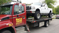 CHEAP TOW ------------- kwick towing 24/7 impound lot towing