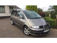Seat alhambra seven seater