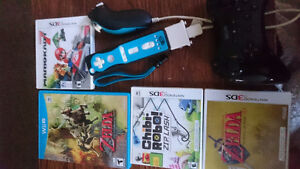 3DS Games + Controllers