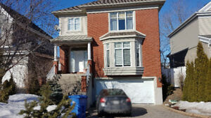 House for rent in 'O' sector of Brossard Dix30 w/ double garage