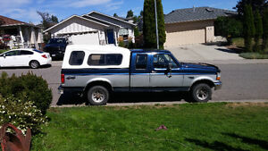 1993 Ford F-150 4x4 Pickup Truck Much recent work