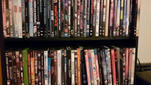 Many DVDs all genres ONLY $1