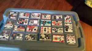 50 Jersey/Auto Hockey Cards