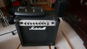 Marshall, Fender, Traynor  amps