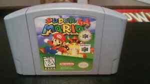 Super Mario 64 for the Nintendo 64 for sale or trade for games