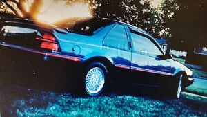 1990 Chevrolet Beretta G.T. Mint Condition Fast Car Kitchener / Waterloo Kitchener Area image 1