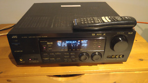 JVC receiver big power