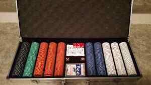 Poker chip set Kitchener / Waterloo Kitchener Area image 3