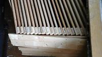 Pine sheving