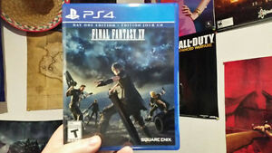 Selling Final Fantasy 15 for PS4 for $40