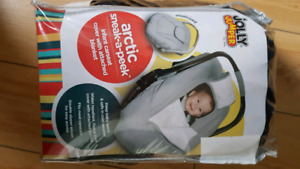 Car seat winter cover