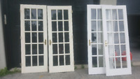 Solid French Doors