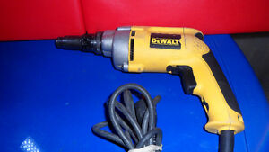Dewalt DW268 Drywall Screw Driver $140.
