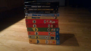 Family Guy - Volumes 1-9 + All 3 Star Wars