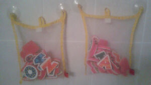 ABC Letter Stickers, Xylophone and net for bathtub fun Windsor Region Ontario image 2