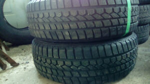 Two excelent 215 70 15 winter tires.