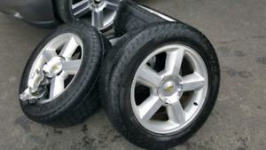 "Chev Oem rims.  20"" Off 2008 Avalanche"