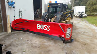 snow pusher, plows, salter, truck mounts, salt bins