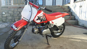 Xr70r in very good condition  crf70