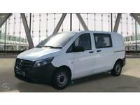 2020 Mercedes-Benz Vito 114 Crew van Compact Panel Van Diesel Manual