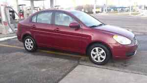 2010 Hyundai accent only 121780 kms