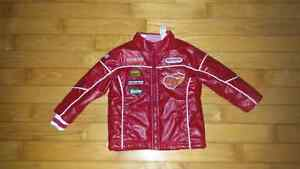 McQueen fake leather Spring/Fall coat - Size 24mths
