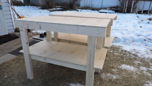 custom built heavy duty work bench tool shot truck job storage