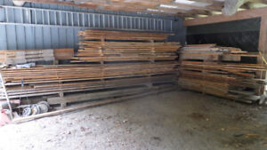 For sale rough cut local pine and hemlock.