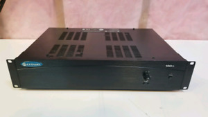 Crown 180A commercial power amplifier.