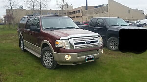 2007 FORD EXPEDITION EL EDDIE BAUER - (EXTENDED)