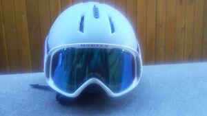 Salomon Helmet and Oakley Goggles