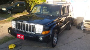 2010 jeep comander 4x4 suv safety included