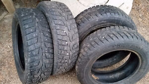 $325 Like NEW Studded Winter Tires 185/65/R15