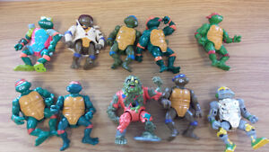 Teenage Mutant Ninja Turtles from the 80s and 90s