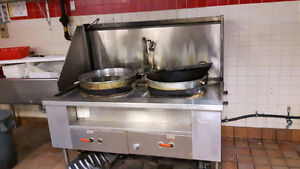 Two Chines Cooking equipment Wok