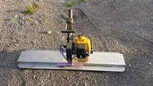 Gas powered concrete trowel Kitchener / Waterloo Kitchener Area image 1