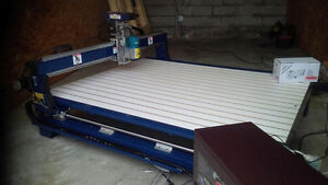 Neuf 6 x 6 New 4X4 CNC Router AND Plasma General Sign Usinage