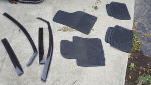 Weathertech mats and rain guards for Volkswagen GTI