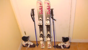 SKIS  -  BOOTS VERY GOOD CONDITION