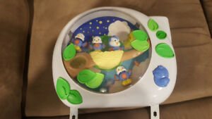 Fisher price projector mobile.