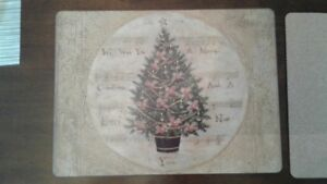 Christmas Place Mats, Pimpernel, Set of 8