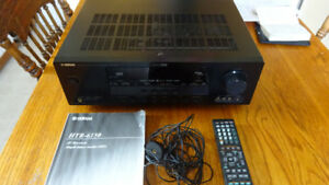 Yamaha Home Theatre receiver and Bose Acoustimass 10