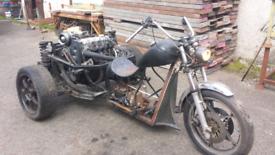 Trike motorbike running but need finnish