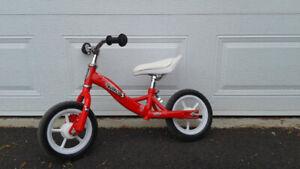 Vélo enfant sans pédales