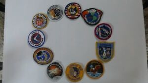 Badges des missions spatiales d'APOLLO