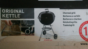 New Webber Charcoal grill